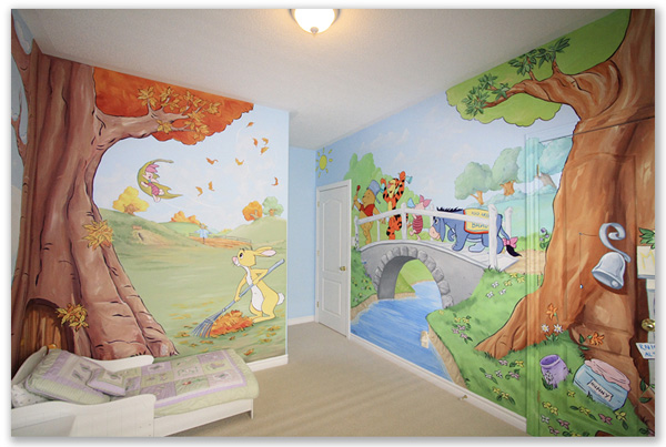 Kids Mural Themes