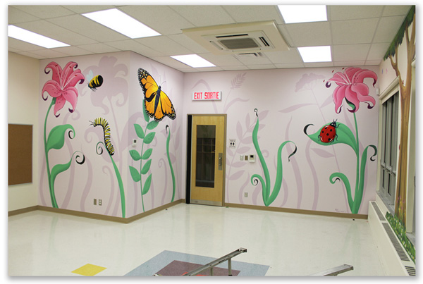 Murals for Day Cares and Play Centres