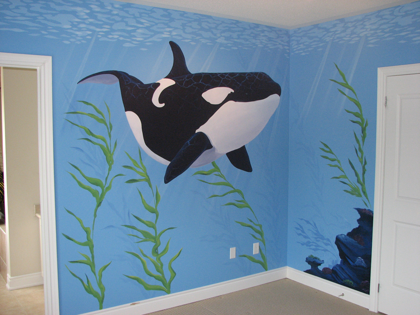 Underwater Themed Murals Mural Magic