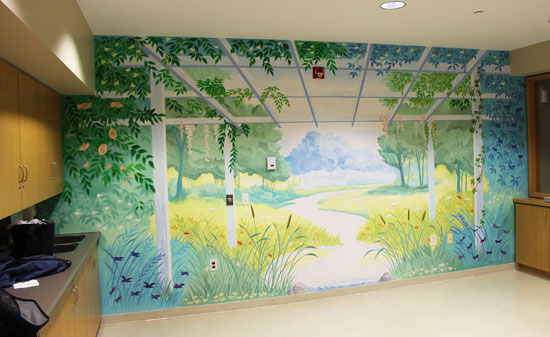 Bethany Lodge - Nursing Home Mural