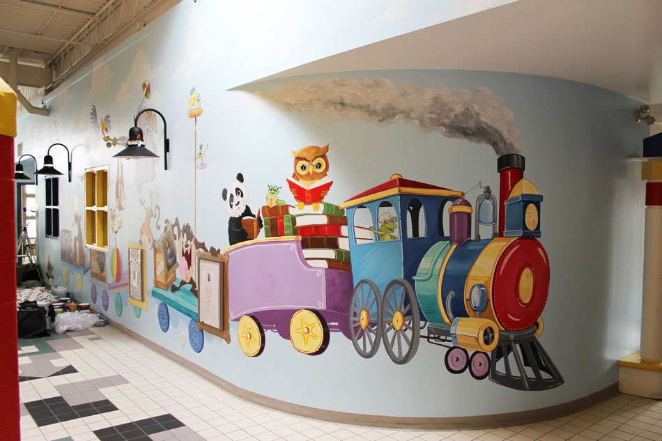 ottawa day care interactive wall mural mural magic day care murals mural magic
