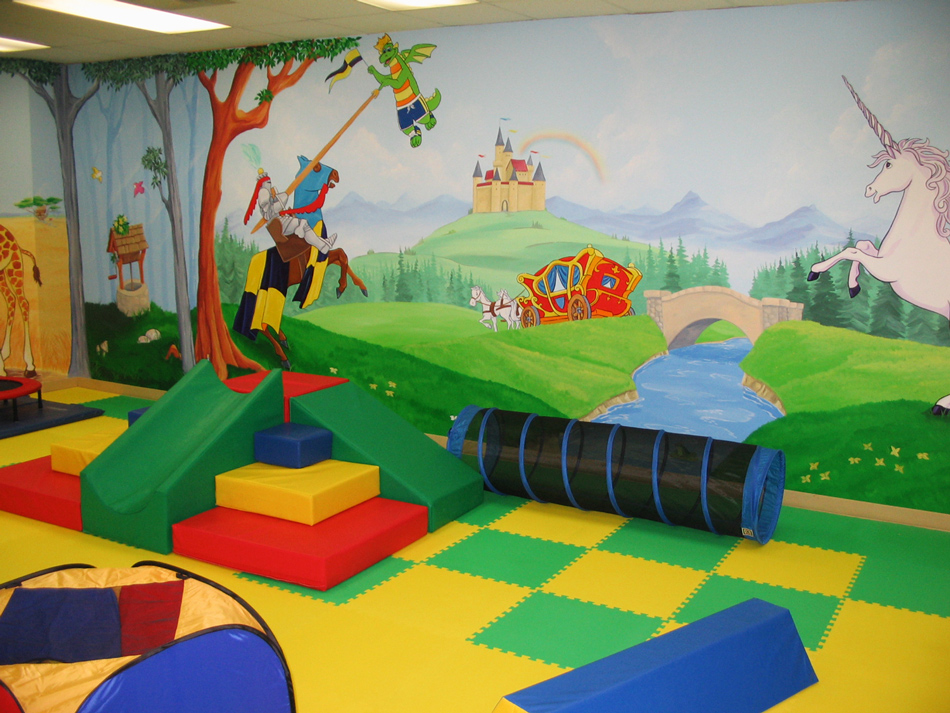 Play Centre Kings Caste Mural