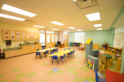 Fully Repainted Daycare in Ottawa.